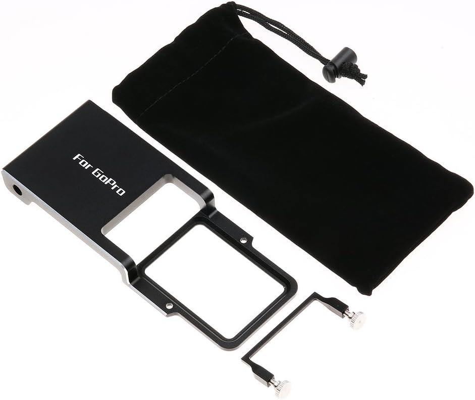 SJCAM and DJI OSMO Zhiyun Smooth Q Black Switch Mount Plate Adapter Handheld Solid Gimbal Adapter for GoPro Hero 7//6//5//4//3+ YI