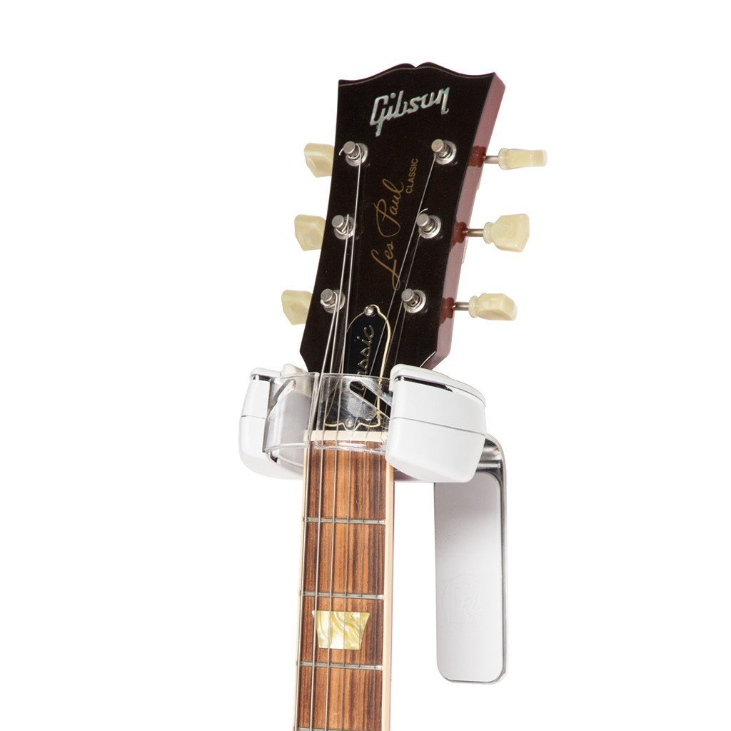 D/&A Grip White Mountable Instrument Wall Hanger with Lifetime Guarantee