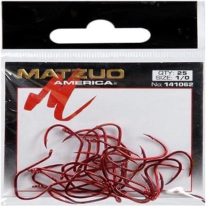1//0-25 Pack CLEARANCE SALE! Matzuo Circle Hook Straigh Eye