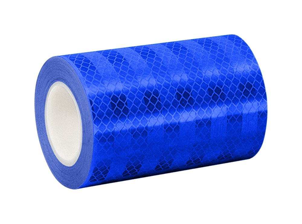 3M 3435 Blue Reflective Tape Roll – 5 in. x 15