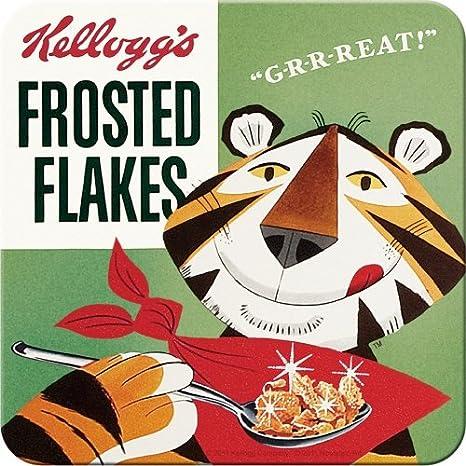 Nostalgic-Art 46116 dise/ño Retro de Caja de Frosties de Kelloggs Posavasos