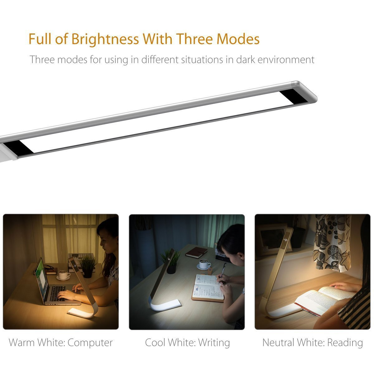 Lámpara LED Flexible Multifuncional de Lectura Sobremesa 180 por solo 30€