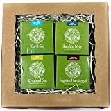 Natural Herbal Variety Tea Gift - Organic Assortment Set for Stress Relief, Sleep, Digestion, Metabolism, Female beauty, Healthy lifestyle, 4 packs, 120 tea bags (Women's Health)