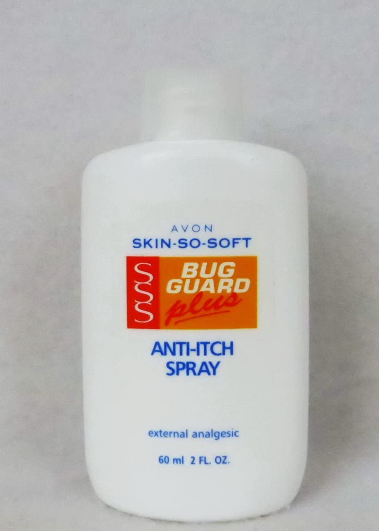 Avon Skin so Soft Anti Itch Spray Bug Guard Plus 2 Oz. Bottle