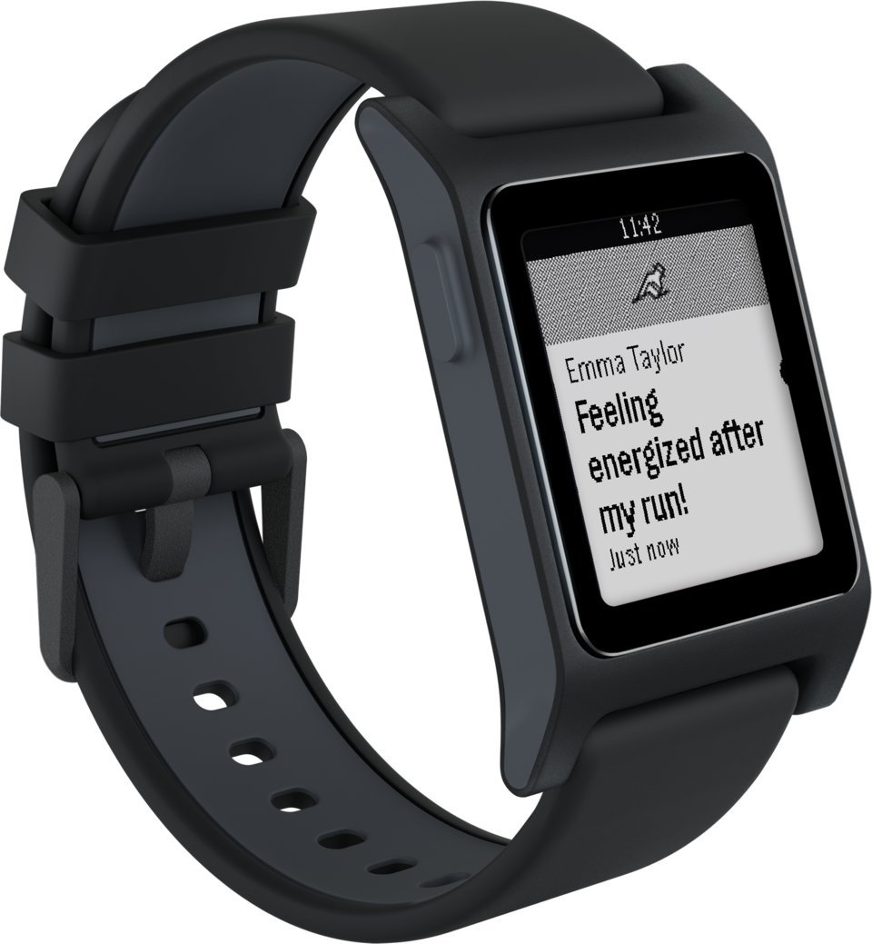 Amazon.com: Pebble 2 + Heart Rate Smart Watch - Black/Black: Cell Phones & Accessories