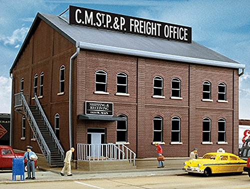 Walthers Cornerstone Series Kit HO Scale Freight Office Kit