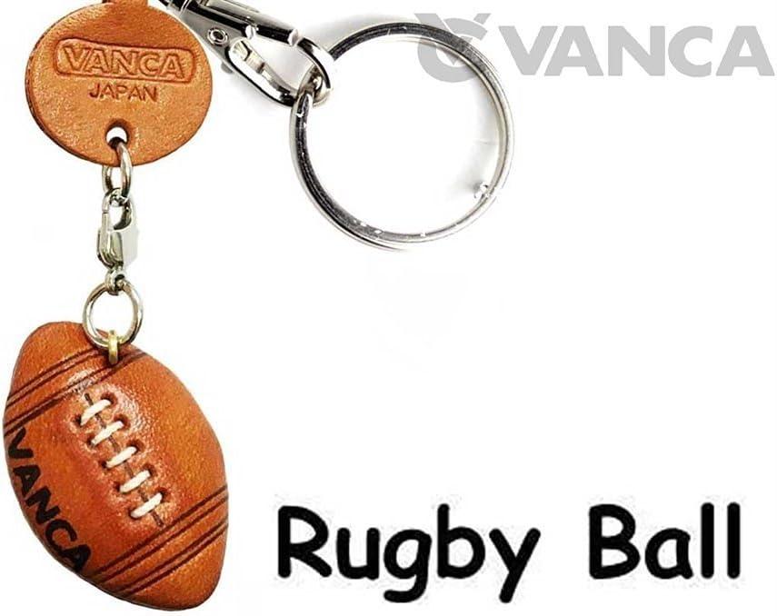 Pelota de rugby artículos de cuero Pequeño llavero VANCA craft-collectible llavero hecho en Japón: Amazon.es: Coche y moto