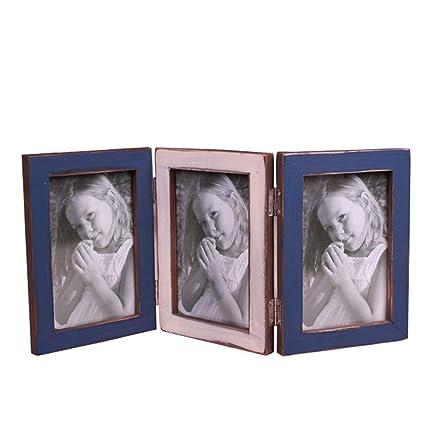 Kaige marco dela foto Portaretrato marco plegable foto marco retro