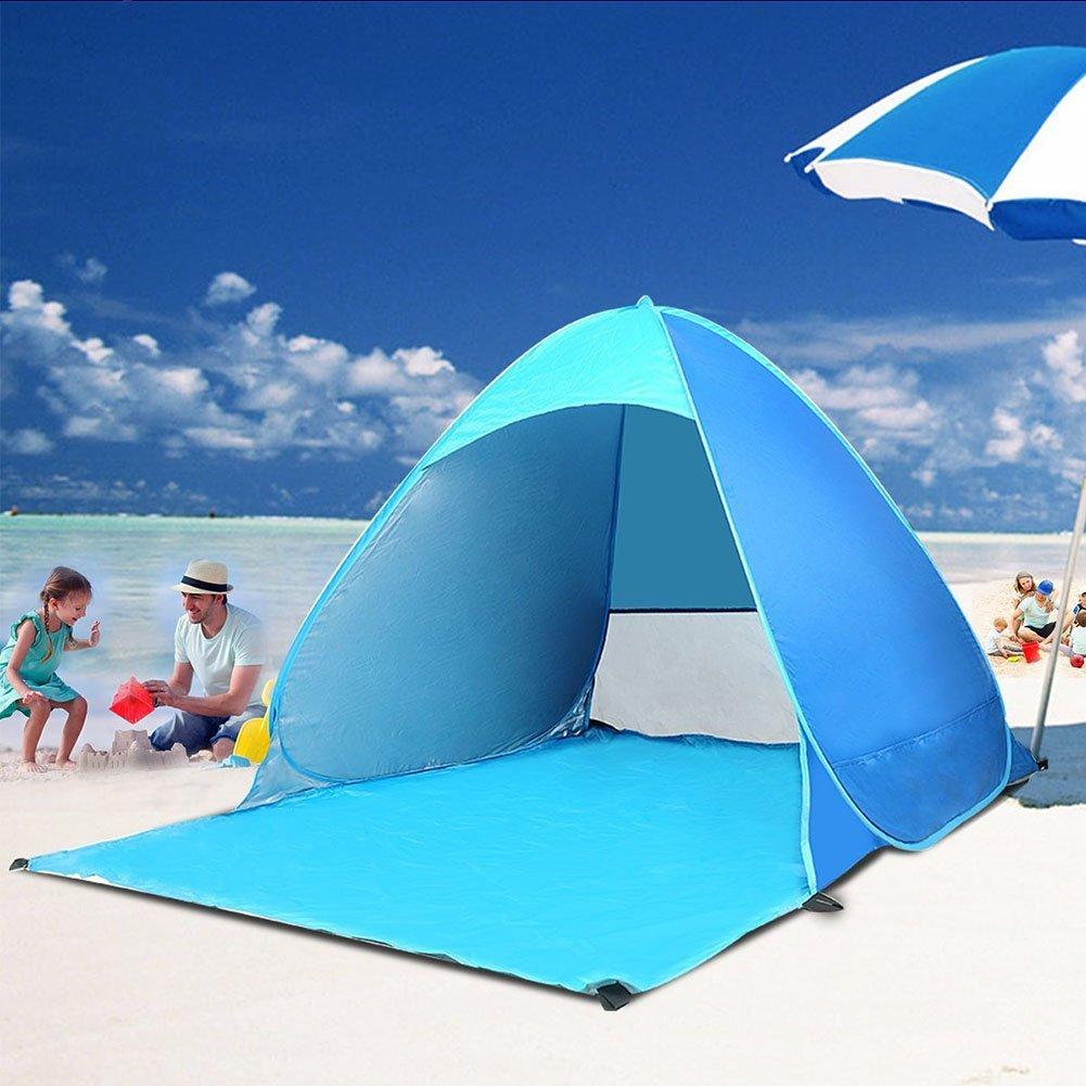 Tienda de campa/ña para la Playa y Sol Refugio para Camping Pesca Picnic/ feierna Sol Protecci/ón Tienda de campa/ña Plegable port/átil beb/é Juguete Tienda de campa/ña /Protecci/ón UV