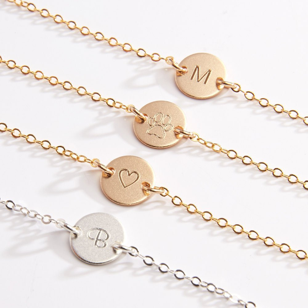 3e0a866b8 Amazon.com  Customized Anklet Ankle Bracelets - Personalized Jewelry- Beach  Lover- Gift for Best Friends