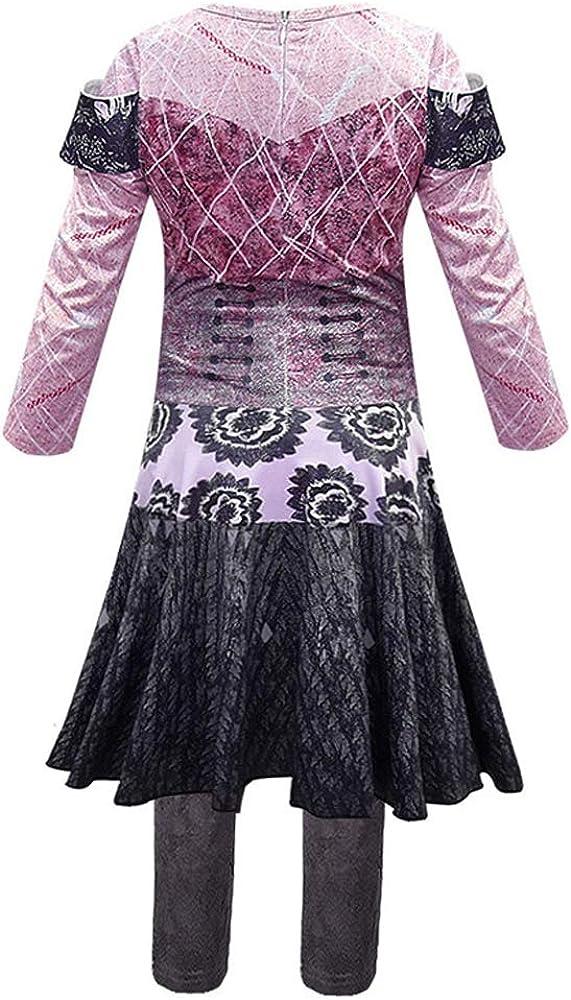 Greetuny Descendants 3 Audrey Dress up Halloween Disfraz Vestidos ...