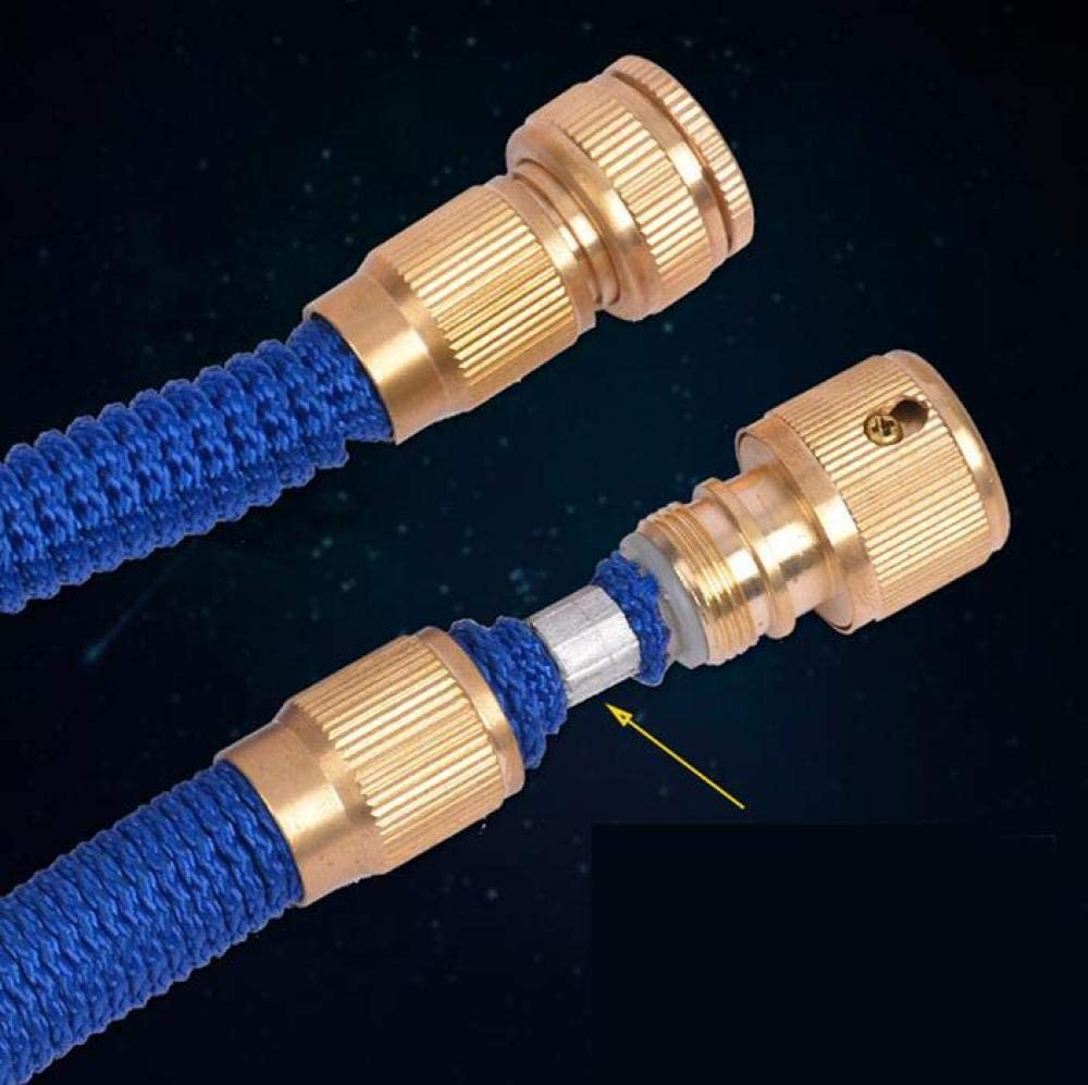 Flexible Garden Hose Pipe Times Expanding Flexible Magic Lightweight Watering Hose Pipe with Solid Brass Fittings/Anti-Leakage Easy to Use,7.5M 30m