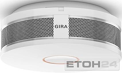 Gira Dual Q DIN14604 - Detector de Humos, Color Blanco