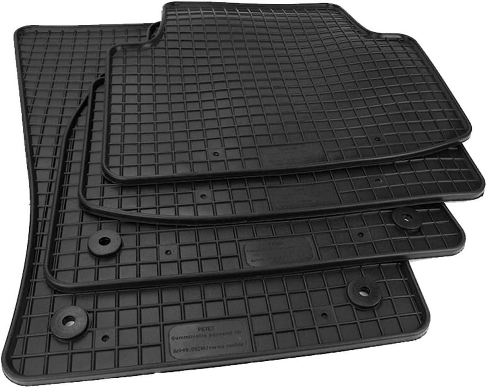 Kfzpremiumteile24 Gummimatten Kompatibel Mit Passat 3g Ab 11 2014 Premium Fußmatten Gummi Auto
