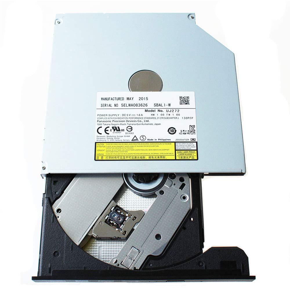 Panasonic UJ-272(Latest Model) SATA 3D Blu-ray Burner Ultra Slim Internal BD RW Optical Drive/9.5mm/Blu-Ray Drive by ISKE (Image #4)