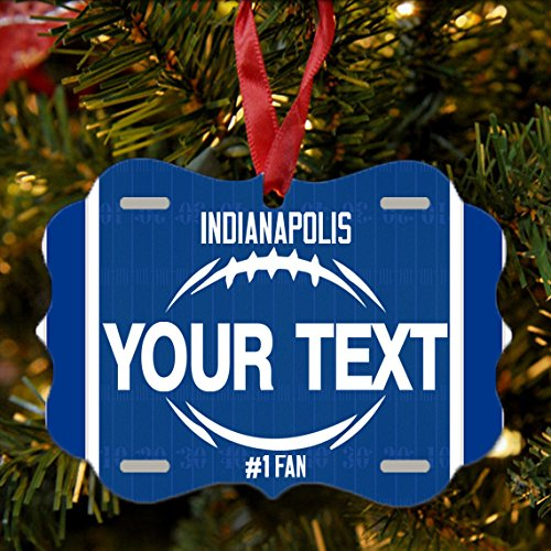 Christmas In Indianapolis.Amazon Com Brgiftshop Personalize Your Own Football Team