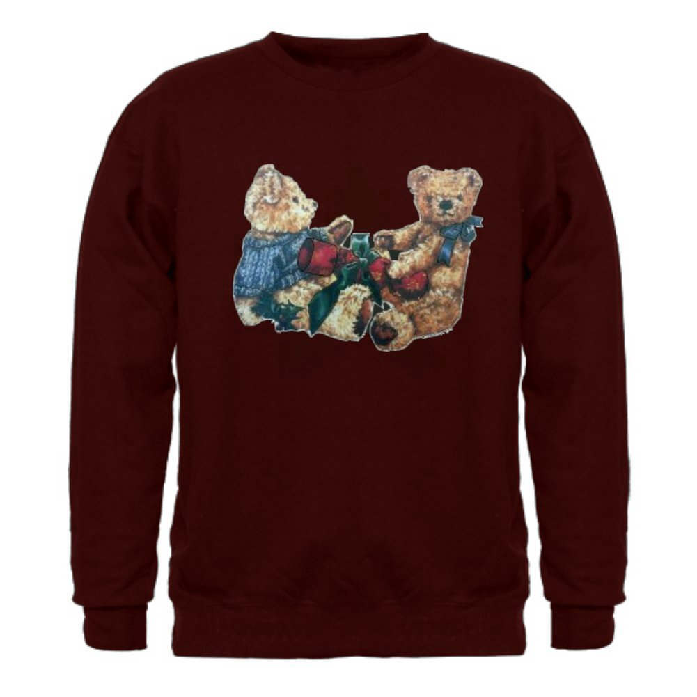 Shakespeareteehouse Christmas Bears Unisex Sweatshirt