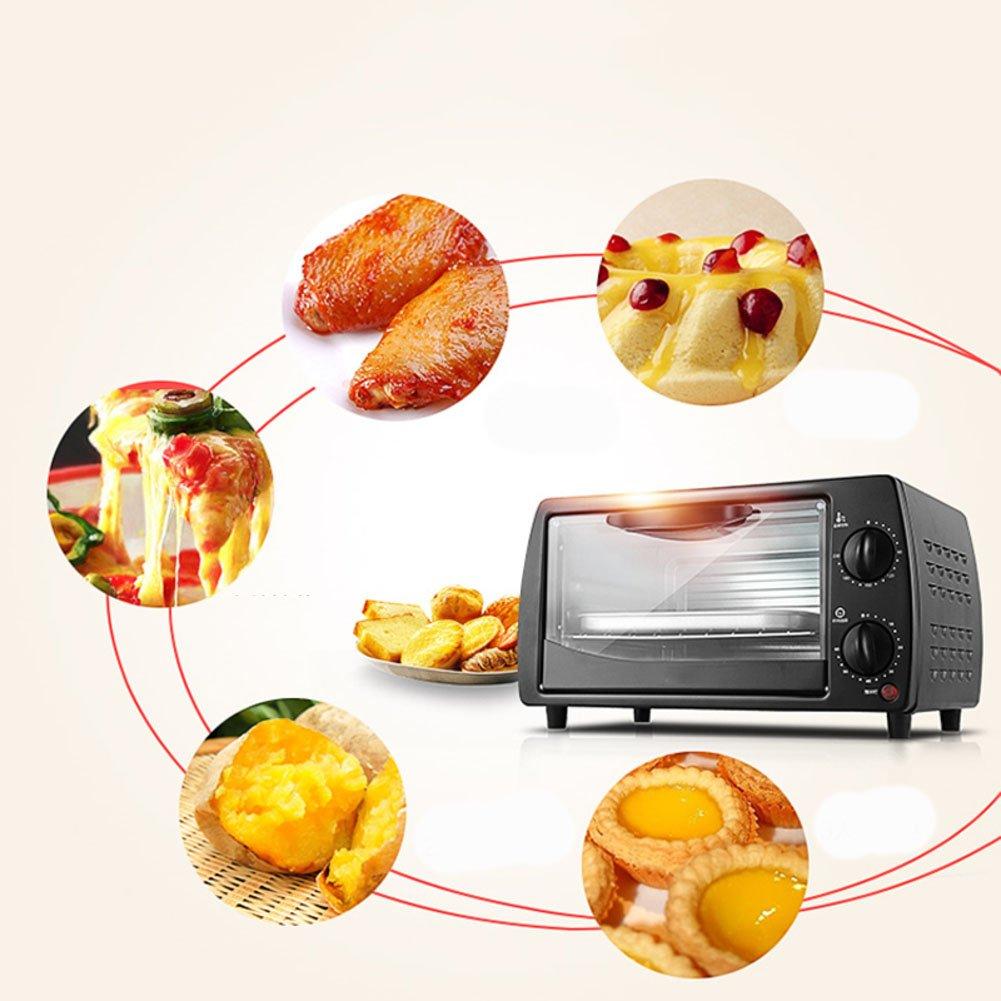 Amazon.com: dulplay horno tostador, horno eléctrico, mini ...