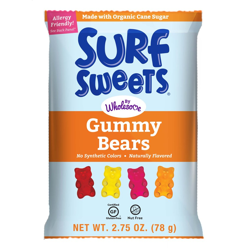 Surf Sweets Gummy Bears 2.75-Ounce, 12-Count by Surf Sweets (Image #1)