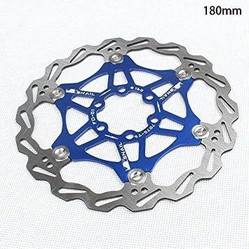 Wovemster Frenos de disco de bicicleta MTB, disco flotante de ...