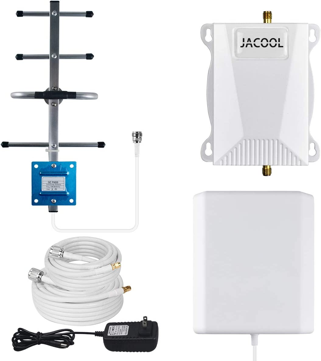 AT&T Cell Phone Signal Booster 4G LTE ATT T-Mobile Cell Phone Booster 700MHz Band 12/17 Cell Signal Booster FDD 4G AT&T Mobile Signal Amplifier Repeater for Home Use - Faster 4G Data Speed