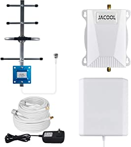Verizon Cell Phone Signal Booster 4G LTE Cell Phone Booster Amplifier FDD Verizon Mobile Signal Repeater Booster 700MHz Band 13 65dB for Home Use - Improve 4G Data Speed for Remote Area