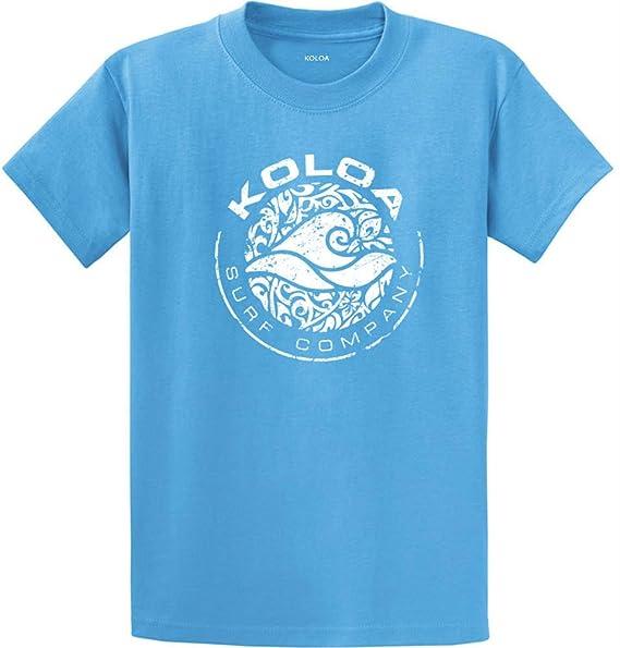 Amazon.com: Koloa Surf Co. Círculo Wave Logo T-shirts en ...