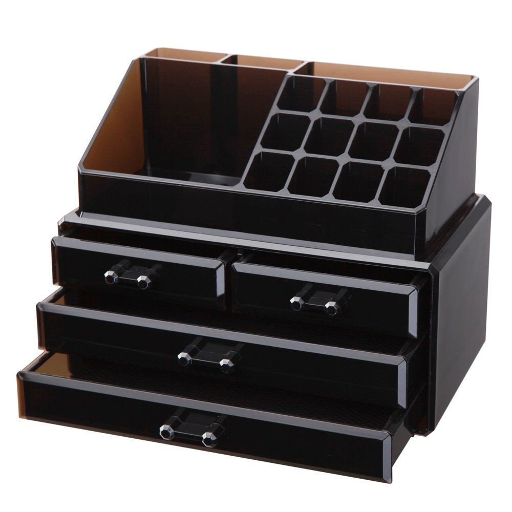 Amazoncom Vencer Jewelry and Makeup Storage Display Boxes 1 Top