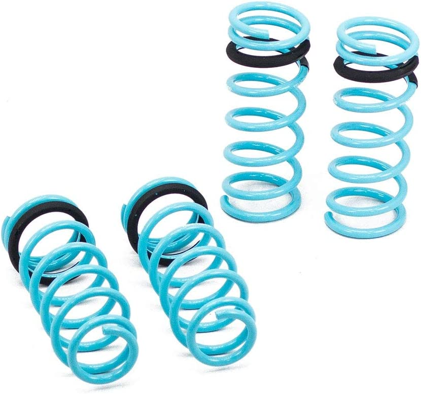 2000-05 Compatible With//Replacement For Brightt GSP-RDQ-416 Traction-S Performance Lowering Springs fits IS300 XE10 Set of 4