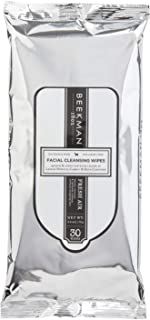product image for Beekman 1802 - Face Wipes - Fresh Air - Biodegradable Makeup Remover Wipes for Face & Eye Makeup - Cleansing Wipes for Face, No Alcohol - Goat Milk Facial Wipes - 30 Wipes