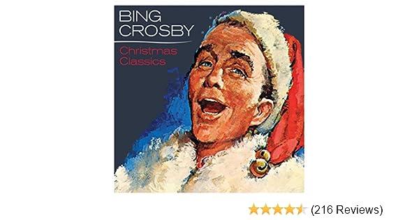 bing crosby christmas classics by bing crosby on amazon music amazoncom - Bing Crosby White Christmas Album