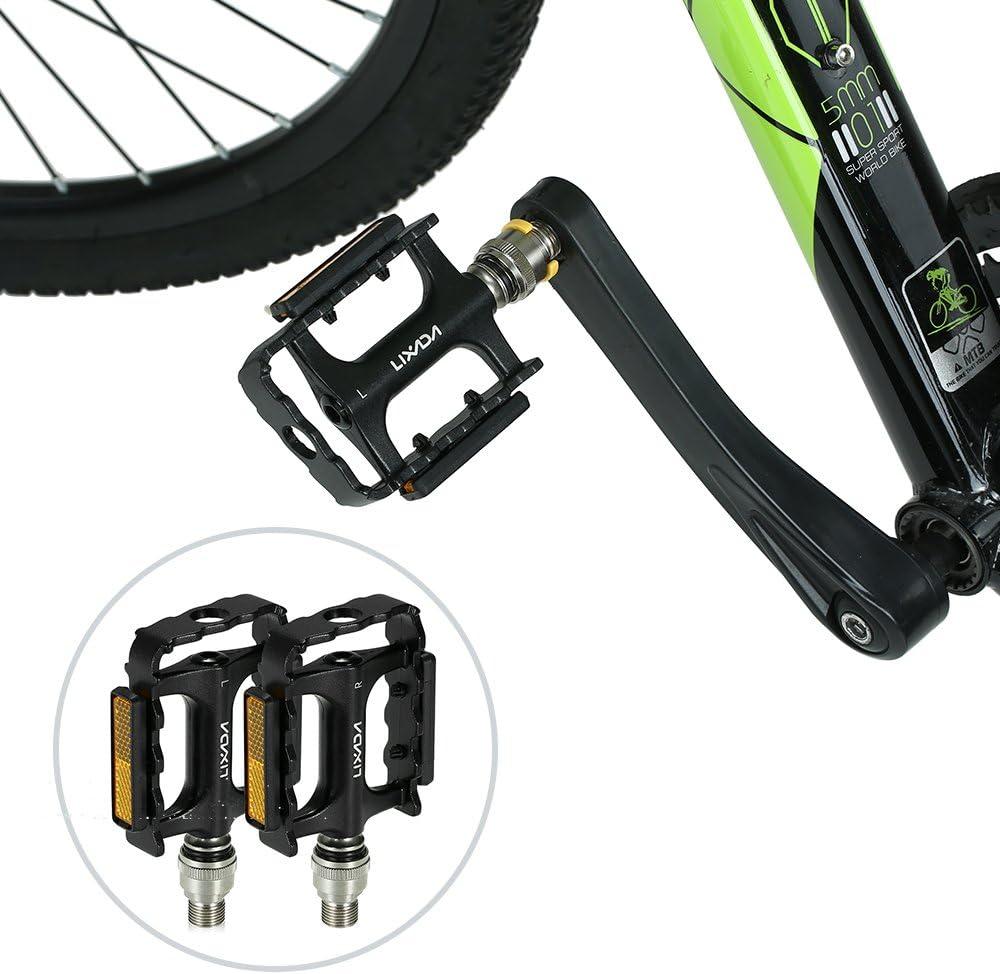 Lixada Pedales de Bicicleta de liberación rápida Bicicleta de MTB ...