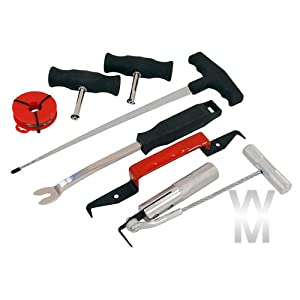 Wondermantools¨ Windscreen Removal Tool Kit Bonded & Rubbered Screens Windshield