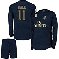 Bale ##11 2019-20 Real Madrid Full Sleeves Away Master Quality Jersey with Shorts/LA LIGA Patch/Club World Cup Logo