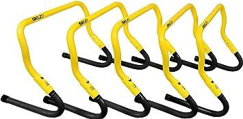 951b54b55bdb8 SKLZ Speed Hurdles - 5 Adjustable Height Hurdles with Free SKLZ Carry Bag