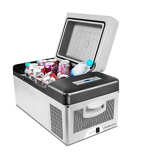 KPOON Refrigerador pequeño Coche Nevera compacta con refrigerador ...