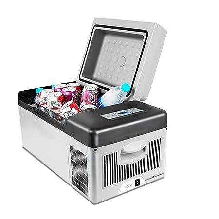 Maybesky-car Caja fría eléctrica portátil Nevera compacta con ...