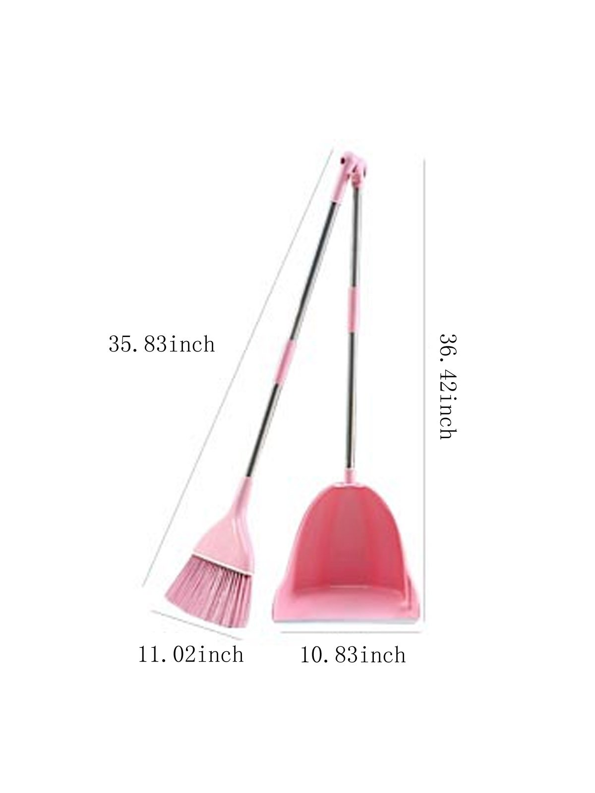 WJL Broom and Dust Pan Set by WJL (Image #2)