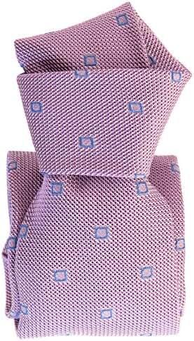 Elizabetta Men's Luxury Italian Handmade Silk Grenadine Tie Necktie, Garza Fina