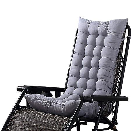 Senza Chair Cuscini Lounge Chair Cuscino Imbottito per Sedia A Sdraio Cuscino Panca per Poltrona Sdraio Relax da Casa E Giardino Loveinwinter Materassino per Sdraio Casa 130 CM