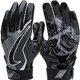 Men's Nike Vapor Jet 4 Football Gloves Black/Wolf Grey Size Medium