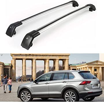 MotorFansClub Crossbar Cross Bars for Chevrolet Equinox 2018 2019 Luggage Rack Top Roof Rack Cargo Rack