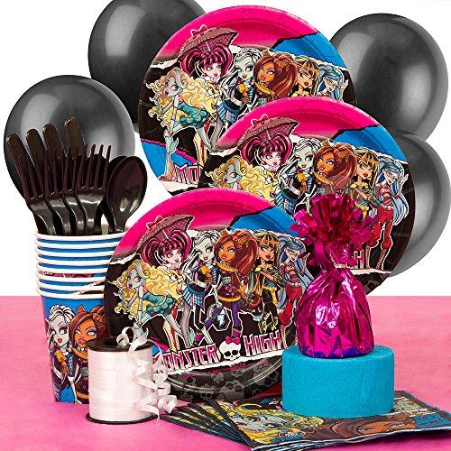 Monster High Party Supplies Kit for 8 (Monster High Kit)