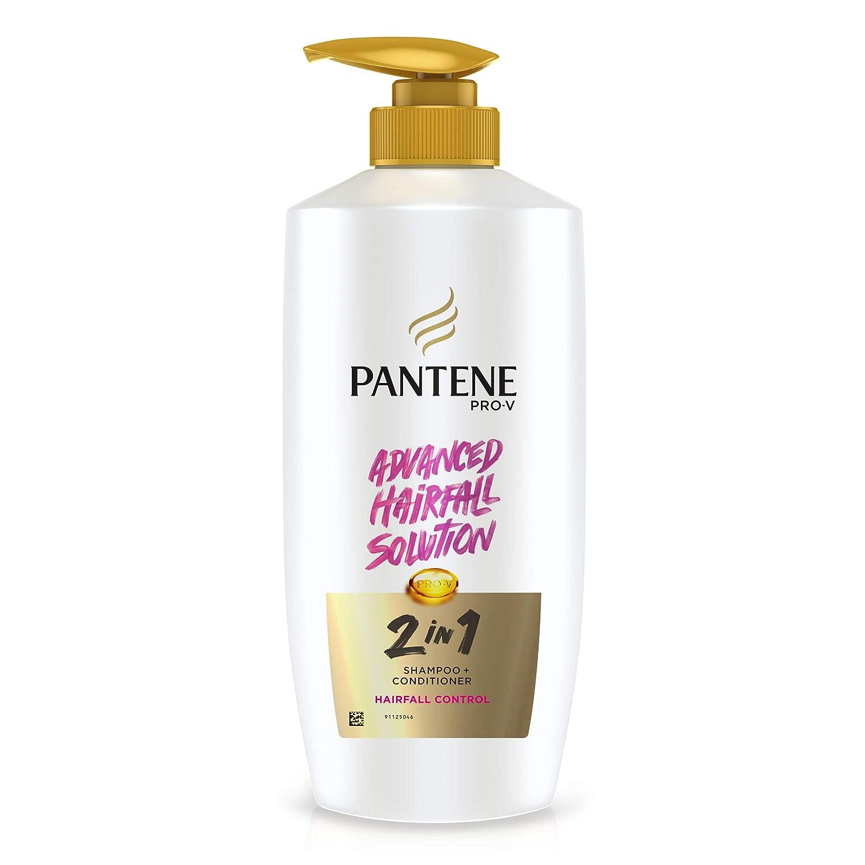 Pantene 2 in 1 Anti Hair Fall Shampoo + Conditioner, 650 ml
