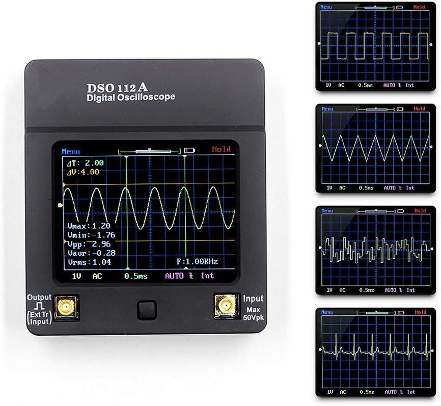 memoria digitale stabile per oscilloscopi Oscilloscopio portatile TFT DSO112A
