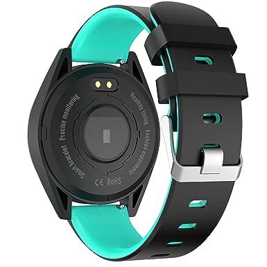 ⌚⌚Multifunción Reloj Inteligente con Pulsómetros, Smartwatches ...