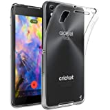 Alcatel Idol 4 Case, LK Ultra [Slim Thin] Scratch Resistant TPU Rubber Soft Skin Silicone Protective Case Cover for Alcatel Idol 4 - Clear
