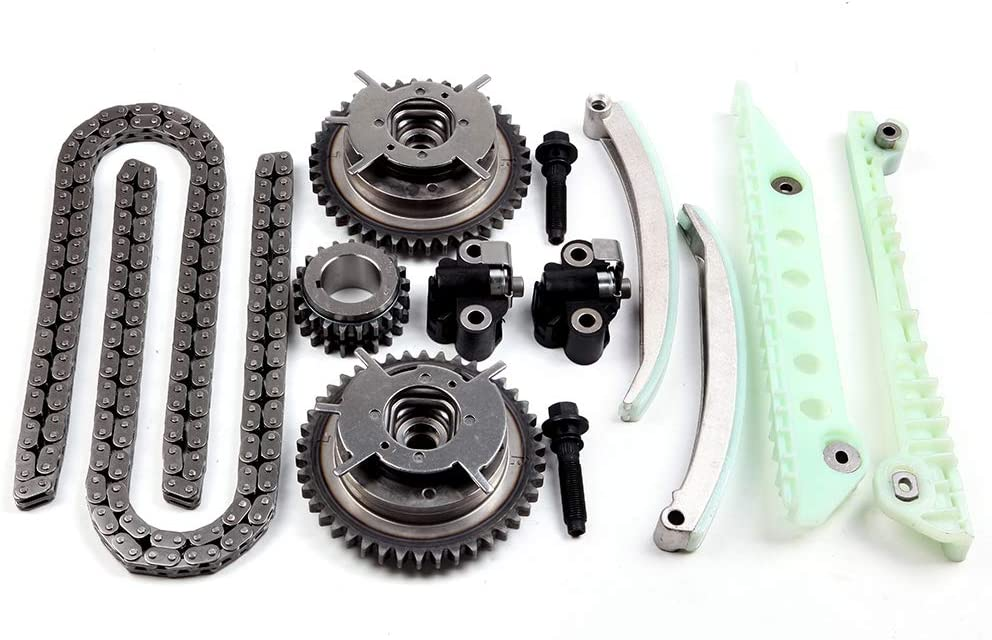 OCPTY Timing Chain Kit fits for 4R3Z-6M256-CC ford Explorer Sport Trac F-150 Mustang 4.6L 2006-2010