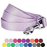 3 ft leash - Blueberry Pet 19 Colors Durable Classic Dog Leash 4 ft x 1