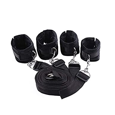 HCFKJ Sexo Juguetes Mujeres SIncreíBle Centro Comercial Bajo Cama Bondage Cinturones con Cuff para Tobillo PuñOs Mano: Amazon.es: Ropa y accesorios
